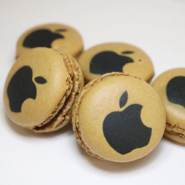 Branded macaron selection
