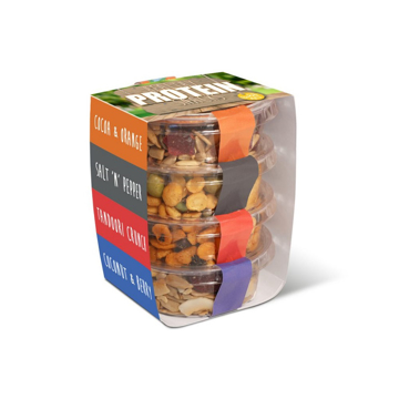 4 stacked snack pots
