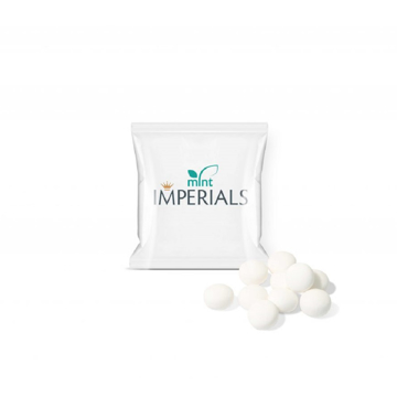 A small packet of mint imperials