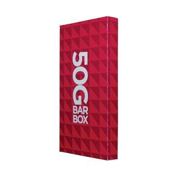 Chocolate bar in a box