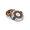 tin of mixed chocolate caviar beads