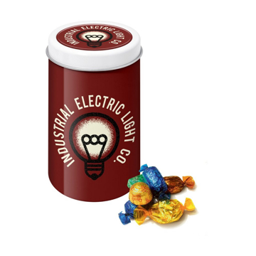 corporate promotional quality street tin