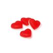 4 heart shaped haribo sweets