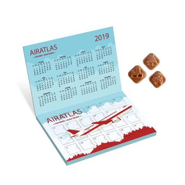 flip top promotional advent calendar
