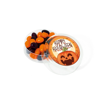 halloween themed jelly beans pot